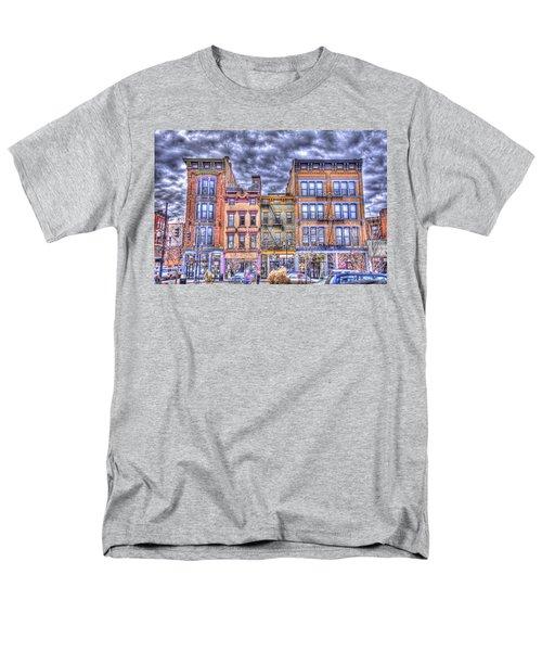 Vine Street Men's T-Shirt  (Regular Fit) by Daniel Sheldon