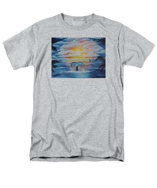 Wale Tales Men's T-Shirt  (Regular Fit) by Dianna Lewis