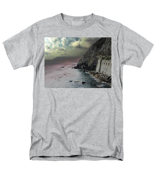 Men's T-Shirt  (Regular Fit) featuring the photograph Walk Of Love Riomaggiore by Natalie Ortiz