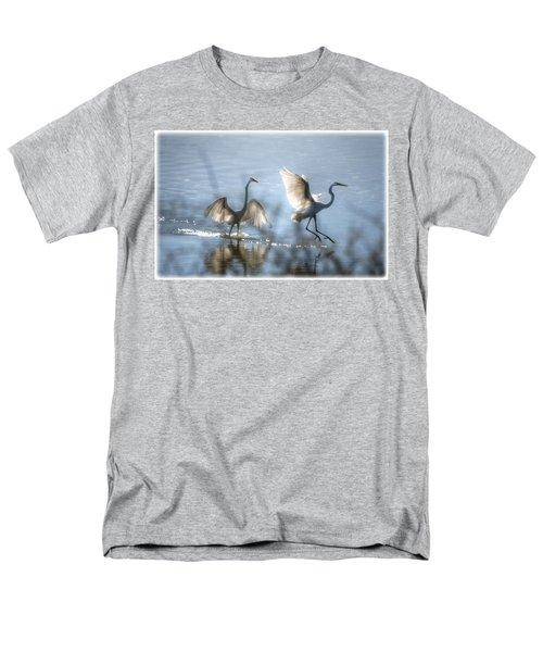 Water Ballet  Men's T-Shirt  (Regular Fit) by Saija  Lehtonen
