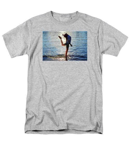 Water Dancer Men's T-Shirt  (Regular Fit) by Laura Fasulo