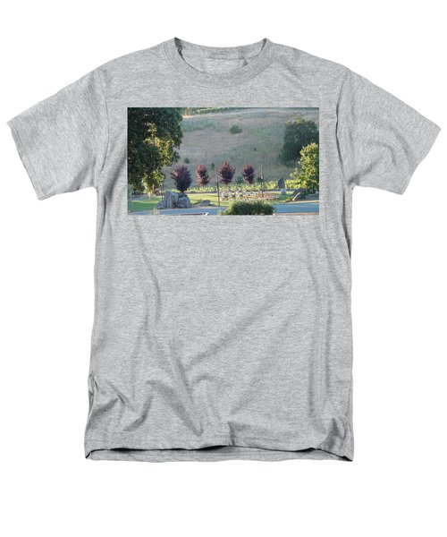 Men's T-Shirt  (Regular Fit) featuring the photograph Wedding Grounds by Shawn Marlow