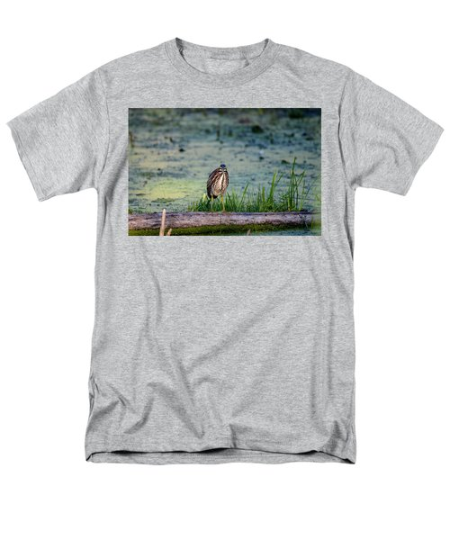 Men's T-Shirt  (Regular Fit) featuring the photograph Whatcou Lookin' At? by David Porteus