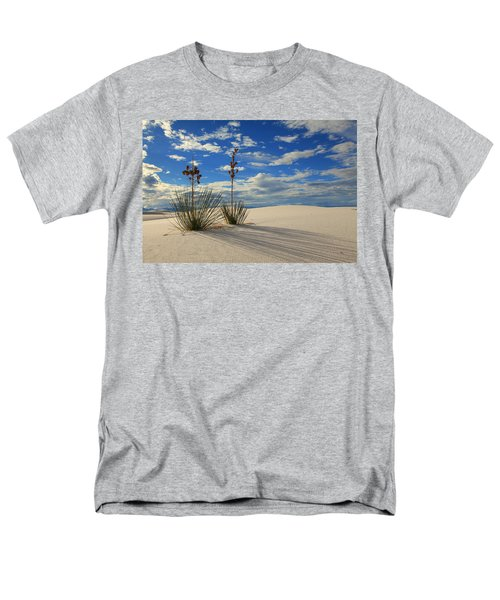 White Sands Afternoon 2 Men's T-Shirt  (Regular Fit) by Alan Vance Ley
