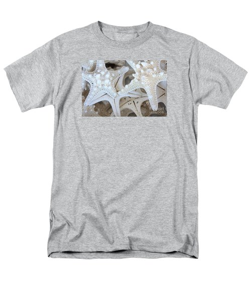 White Starfish Men's T-Shirt  (Regular Fit)