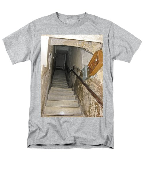 Men's T-Shirt  (Regular Fit) featuring the photograph Who Lives Here? by Allen Sheffield