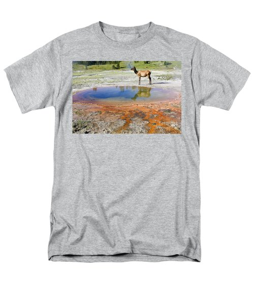 Wild And Free In Yellowstone Men's T-Shirt  (Regular Fit) by Teresa Zieba