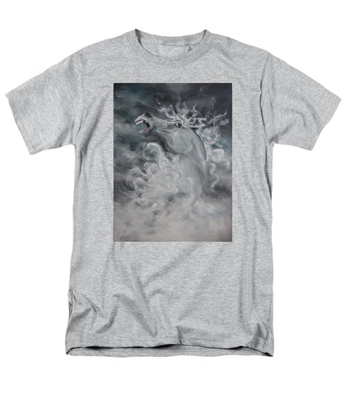 Men's T-Shirt  (Regular Fit) featuring the painting Wild And Free by Jean Walker