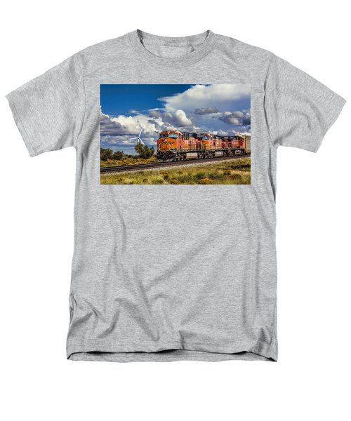 Wind And Rail Men's T-Shirt  (Regular Fit) by Fred Larson