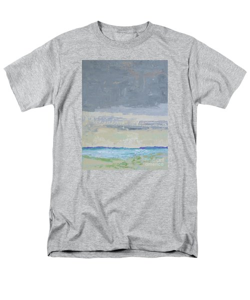Wind And Rain On The Bay Men's T-Shirt  (Regular Fit) by Gail Kent