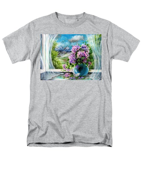 Windows Of My World Men's T-Shirt  (Regular Fit) by Patrice Torrillo