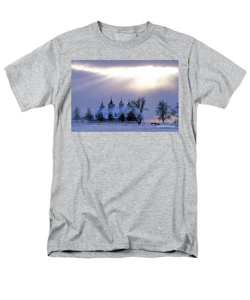 Winter In The Bluegrass - Fs000286 Men's T-Shirt  (Regular Fit) by Daniel Dempster