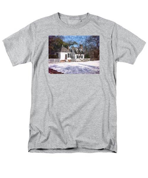 Yule Cottage Men's T-Shirt  (Regular Fit) by Shari Nees