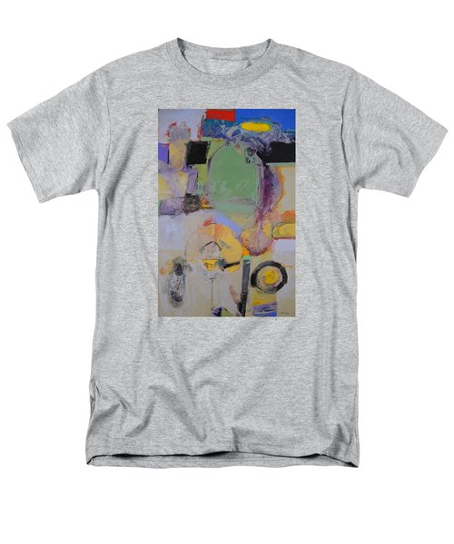 Men's T-Shirt  (Regular Fit) featuring the painting 10th Street Bass Hole by Cliff Spohn