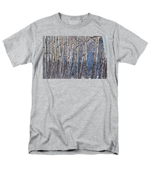 Men's T-Shirt  (Regular Fit) featuring the photograph Aspen Grove by Colleen Coccia