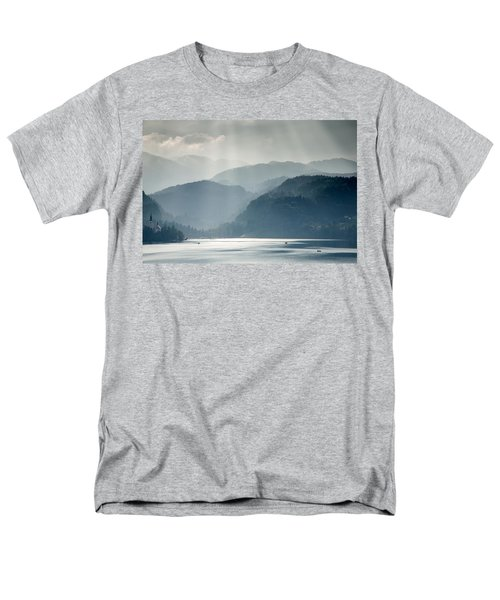 Breaking Through The Mist Men's T-Shirt  (Regular Fit) by Ian Middleton