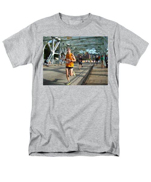 Men's T-Shirt  (Regular Fit) featuring the photograph Bridge Runner by Alice Gipson