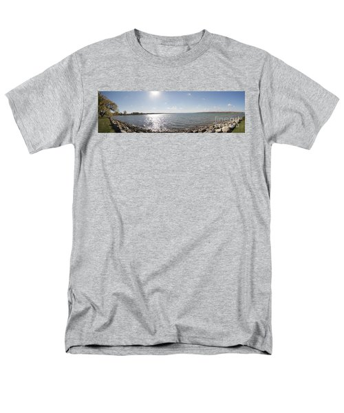 Men's T-Shirt  (Regular Fit) featuring the photograph Canandaigua Lake Panorama by William Norton