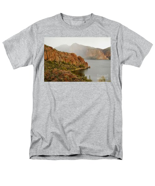 Men's T-Shirt  (Regular Fit) featuring the photograph Canyon Lake by Tam Ryan