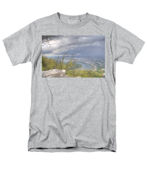 Chattanooga Valley Men's T-Shirt  (Regular Fit) by David Troxel