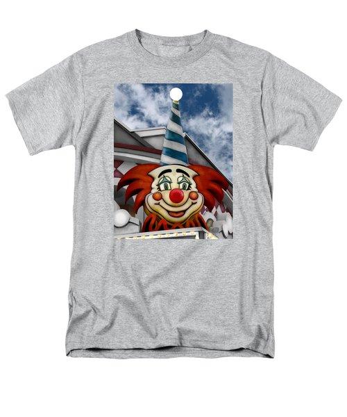 Clown Around Men's T-Shirt  (Regular Fit) by Colleen Kammerer