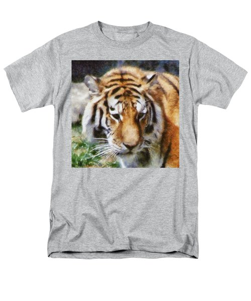 Detroit Tiger Men's T-Shirt  (Regular Fit) by Michelle Calkins