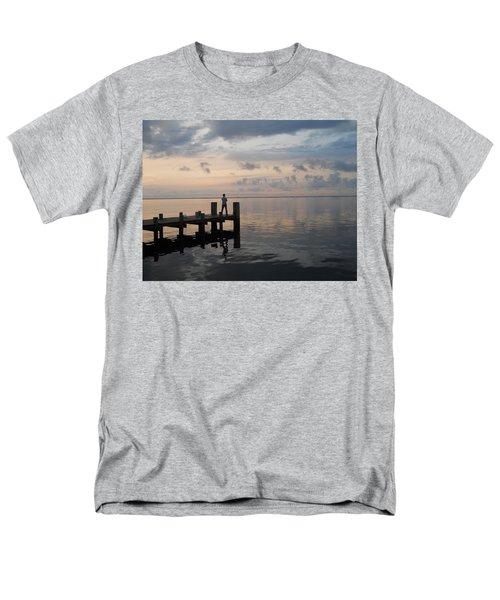 Men's T-Shirt  (Regular Fit) featuring the photograph First Light by Clara Sue Beym