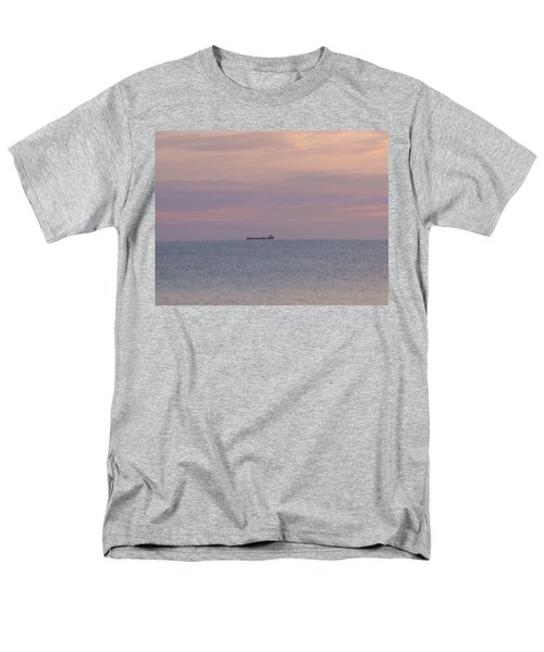 Men's T-Shirt  (Regular Fit) featuring the photograph Freighter by Bonfire Photography