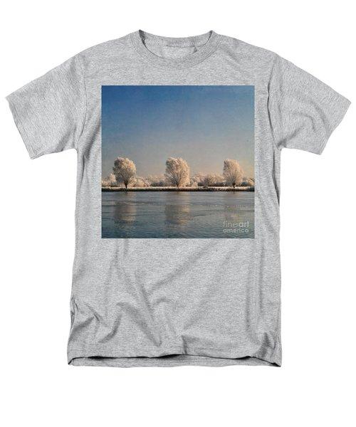 Frozen Lake Men's T-Shirt  (Regular Fit) by Lyn Randle