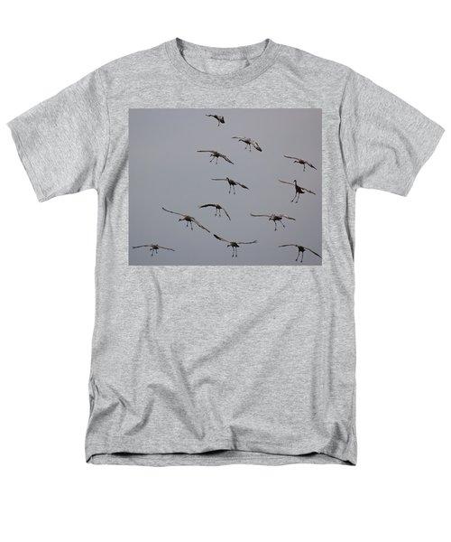 Men's T-Shirt  (Regular Fit) featuring the photograph Good Luck Finding A Parking Spot by Don Schwartz