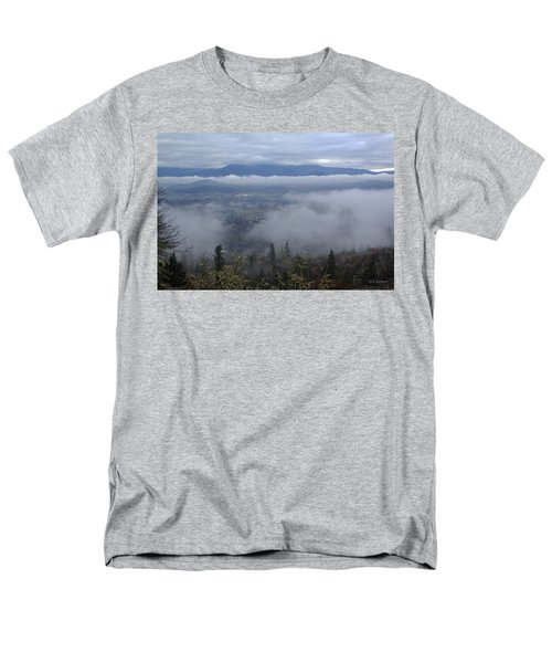 Grants Pass Weather Men's T-Shirt  (Regular Fit) by Mick Anderson