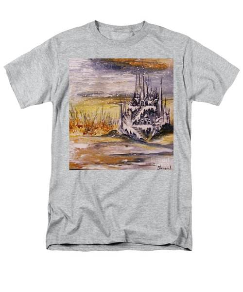Ice Castle Men's T-Shirt  (Regular Fit) by Karen  Ferrand Carroll