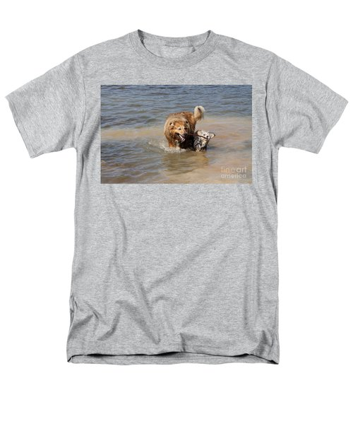 Men's T-Shirt  (Regular Fit) featuring the photograph Jesse And Gremlin Sharing by Jeannette Hunt