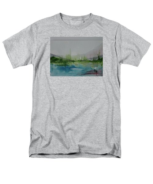 Lake Study 3 Men's T-Shirt  (Regular Fit) by Robin Miller-Bookhout