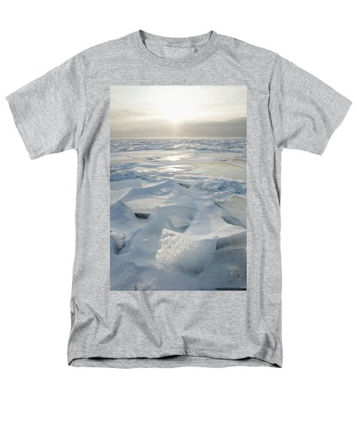 Minnesota, United States Of America Ice Men's T-Shirt  (Regular Fit) by Susan Dykstra