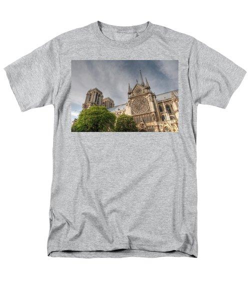 Men's T-Shirt  (Regular Fit) featuring the photograph Notre Dame De Paris by Jennifer Ancker