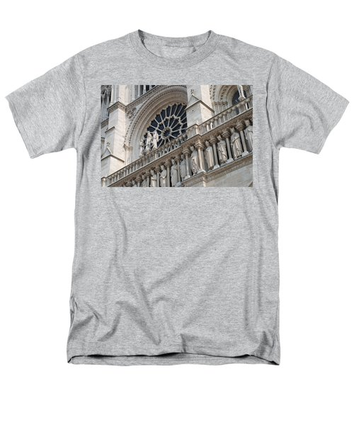 Men's T-Shirt  (Regular Fit) featuring the photograph Notre Dame Details by Jennifer Ancker
