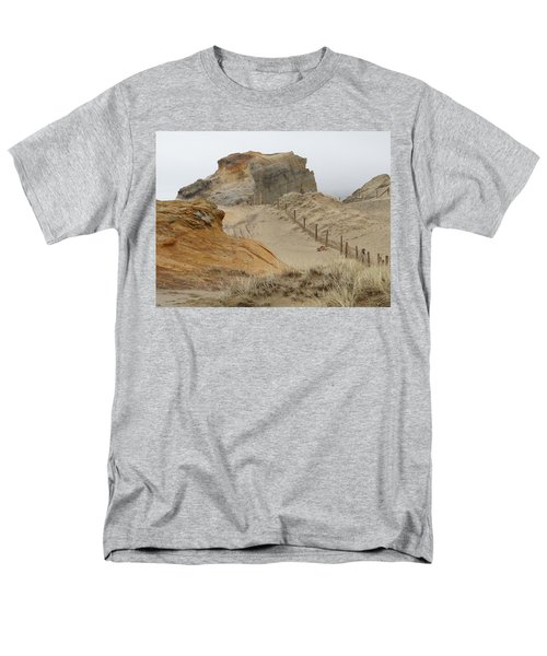 Men's T-Shirt  (Regular Fit) featuring the photograph Oregon Sand Dunes by Athena Mckinzie