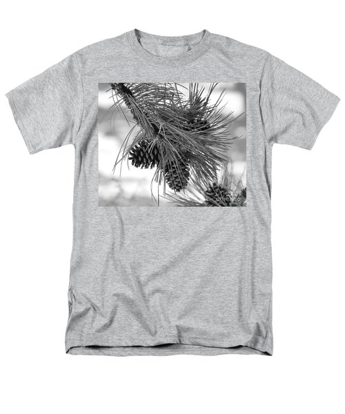 Pine Cones Men's T-Shirt  (Regular Fit) by Dorrene BrownButterfield
