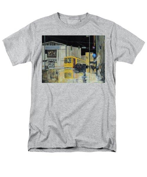 Rivermarket Streetcar 411 Men's T-Shirt  (Regular Fit) by Angelo Thomas