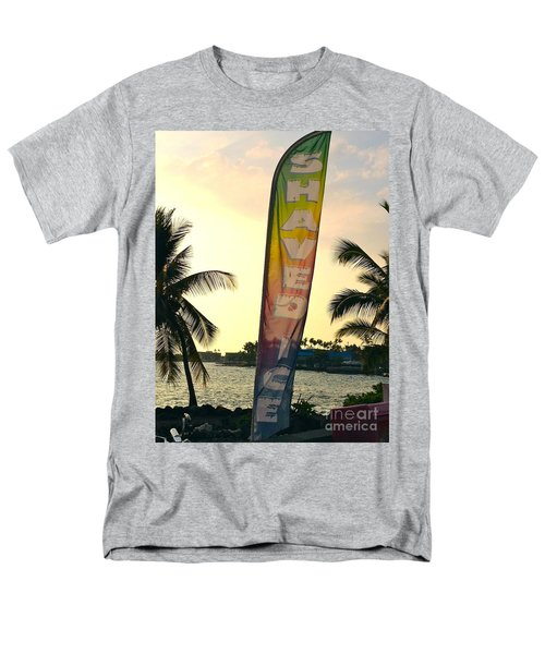 Men's T-Shirt  (Regular Fit) featuring the photograph Shaved Ice by Beth Saffer