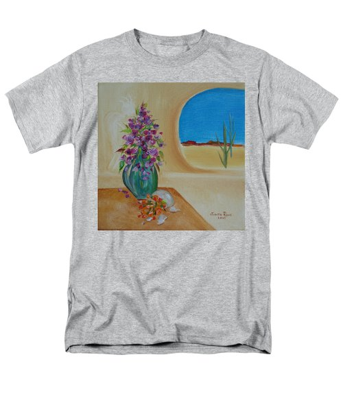 Men's T-Shirt  (Regular Fit) featuring the painting Southwestern 3 by Judith Rhue