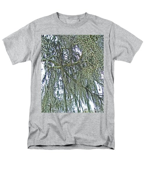 Men's T-Shirt  (Regular Fit) featuring the photograph Spanish Moss by Lizi Beard-Ward