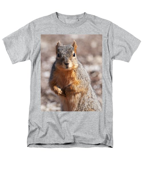 Men's T-Shirt  (Regular Fit) featuring the photograph Squirrel by Art Whitton
