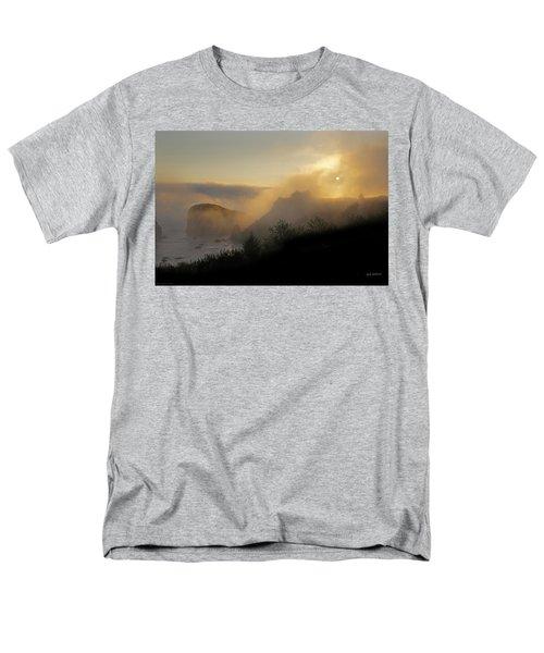 Sunset At Harris Beach Men's T-Shirt  (Regular Fit) by Mick Anderson