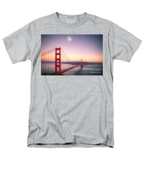Sunset In San Francisco Men's T-Shirt  (Regular Fit) by Jim And Emily Bush
