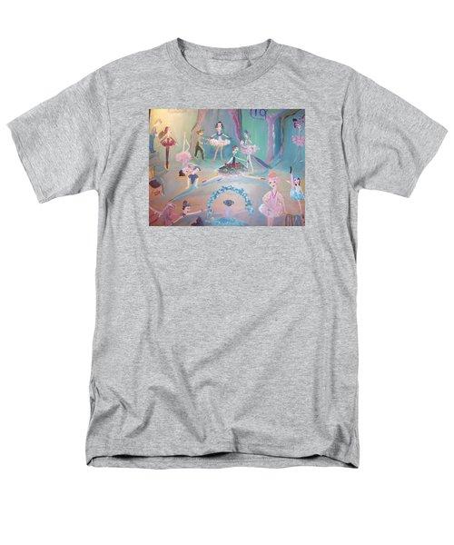 The Ballet Contest Men's T-Shirt  (Regular Fit) by Judith Desrosiers