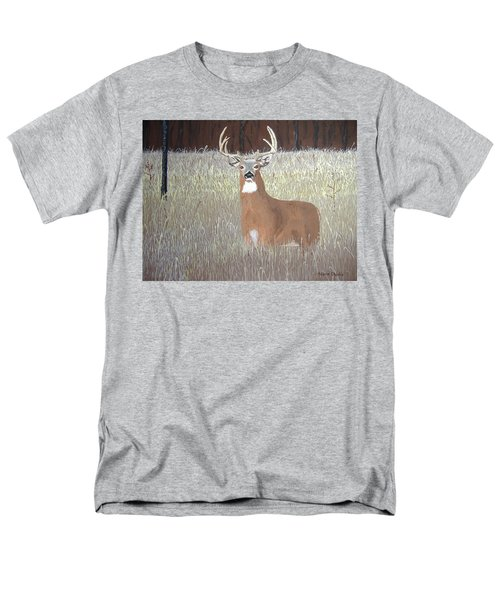 Men's T-Shirt  (Regular Fit) featuring the painting The Buck Stops Here by Norm Starks