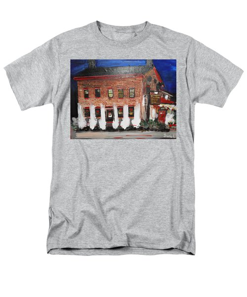 Men's T-Shirt  (Regular Fit) featuring the painting The Olde Bryan Inn by Laurie L