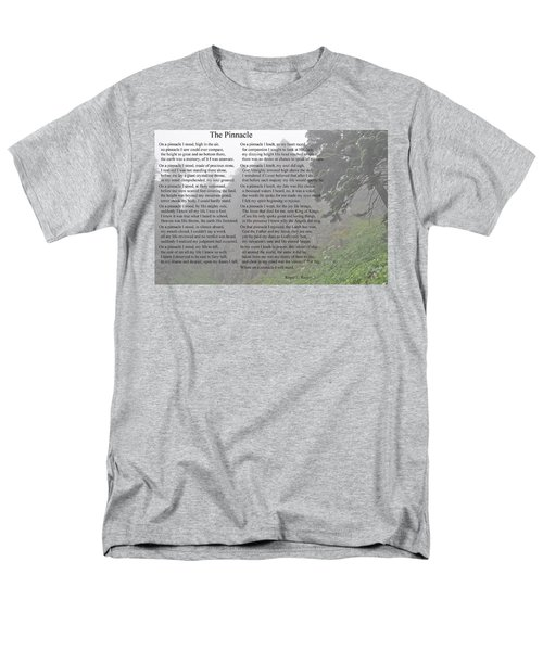 Men's T-Shirt  (Regular Fit) featuring the photograph The Pinnacle by Tikvah's Hope